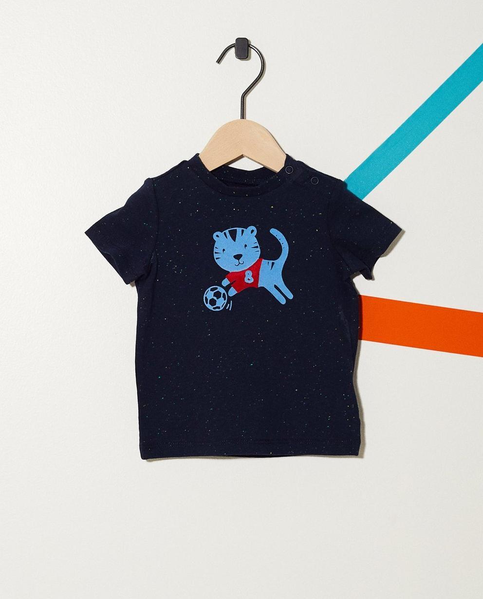 T-Shirt mit Tigerprint - getüpfelt - JBC